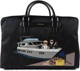 Dolce & Gabbana Mediterraneo Designers Patch Holdall