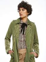 Scotch & Soda Jade Velvet Trench Coat