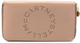 Stella McCartney Stella Logo zip-around wallet