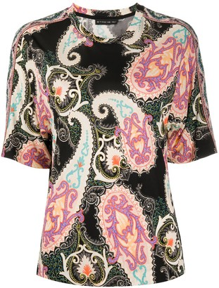 Etro all-over print T-shirt