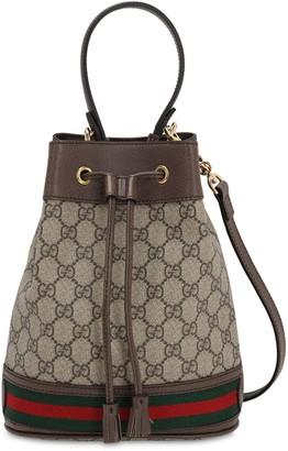Gucci SMALL OPHIDIA GG SUPREME BUCKET BAG
