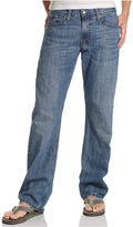 Levi's 514 Straight-Fit Indigo-Wash Jeans