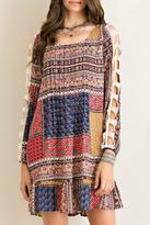 Entro Patchwork Perfect Dress