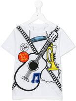 Stella McCartney guitar print T-shirt - kids - Cotton/Polyester - 12 yrs
