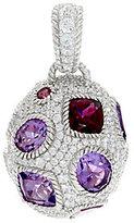 Judith Ripka Sterling 12.35 cttw Gemstone Egg Enhancer