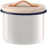 LSA International Utility Container & Ash Lid dia18cm Milk White