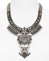 BaubleBar Amazon Bib Necklace, 18