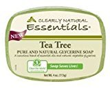 Clearly Natural Glycerine Bar Soap Tea Tree -- 4 oz