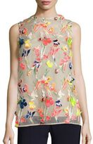 Jason Wu Floral Embroidered Blouse
