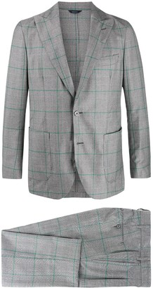Tombolini fitted single-breasted suit