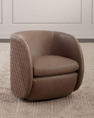 Astounding Leather Swivel Chair Shopstyle Pabps2019 Chair Design Images Pabps2019Com