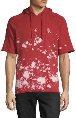 PRPS Splatter Cotton-Blend Hoodie