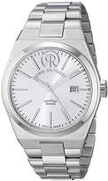 Revue Thommen Urban - Lifestyle Men's Automatic Watch with Silver Dial Analogue Display and Silver Stainless Steel Bracelet 107.01.01
