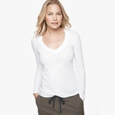 James Perse Relaxed Casual V-Neck