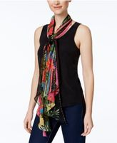 INC International Concepts Hibiscus Garden Scarf, Only at Macy's