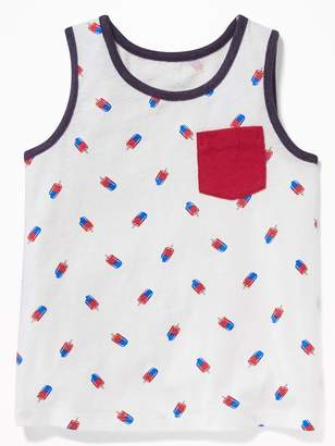 Old Navy Graphic Pocket Tank for Toddler Boys
