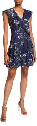 Parker Floral-Print Ruffle Tiered Dress