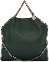 Stella McCartney Green Small Falabella Shaggy Deer Tote
