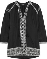 Madewell Embroidered cotton blouse