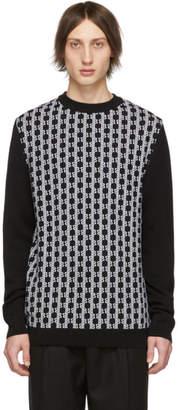 Balmain Black Monogram Sweater
