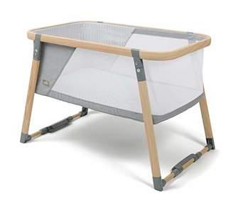 Babylo Natura Folding Crib, Travel Cot, Bedside Crib