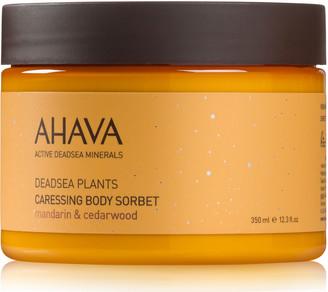 Ahava Caressing Body Sorbet Mandarine Cedarwood 350Ml