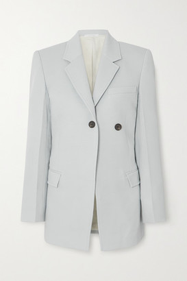 Peter Do Asymmetric Cady Blazer - Light blue