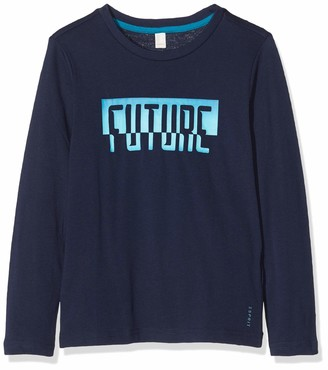 Esprit Boy's Rq1003412 T-Shirt Ls Futu Long Sleeve Top