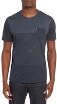Ben Sherman Block Print Pocket Crewneck T-Shirt
