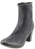 N.D.C. Made By Hand Male Troy Wash Women Round Toe Leather Black Bootie.