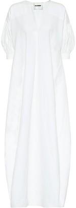 Jil Sander Exclusive to Mytheresa Cotton and linen maxi dress