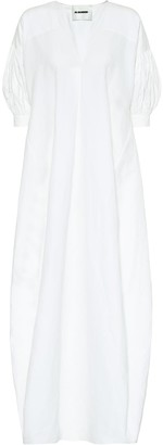 Jil Sander Exclusive to Mytheresa cotton, linen and silk maxi dress