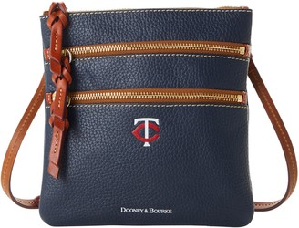 Dooney & Bourke MLB Twins N S Triple Zip Crossbody
