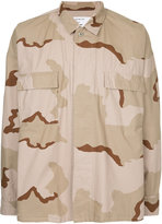 Monkey Time Desert Camouflage Print Shirt