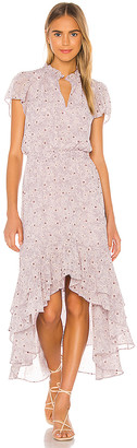 1 STATE Wildflower Bouquet High Low Dress