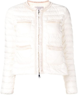 Moncler Cropped Quilted Jacket