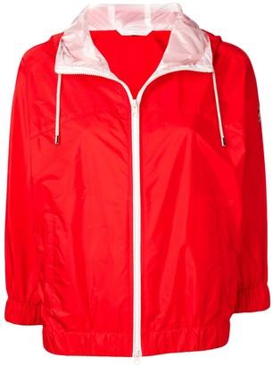 Fay coral rain jacket