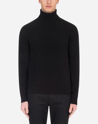 Dolce & Gabbana Wool Turtle-Neck Sweater