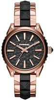 Diesel Nuki Black Dial With Rose Gold An