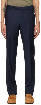 Ermenegildo Zegna Navy EZ Dress Trousers