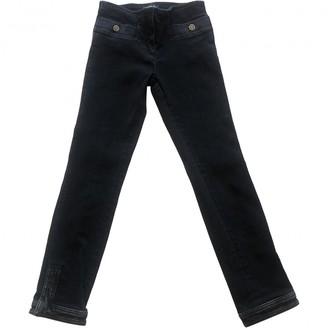 Chanel Black Cotton - elasthane Jeans