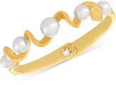 Majorica Organic Man-Made Pearl Twist Bangle Bracelet