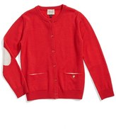 Armani Junior Girl's Wool Cardigan