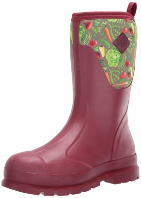 Muck Boot Muck Chore Rubber Women's Work Boots -Berry/Veggie Print (WCHM-602)