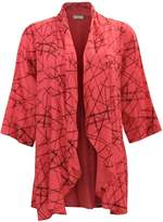Chalet et ceci Rayon Coral Cardigan