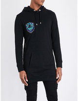 Balmain Beaded Cotton Hoody