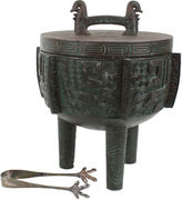 One Kings Lane Vintage James Mont Sheng-Style Large Ice Bucket