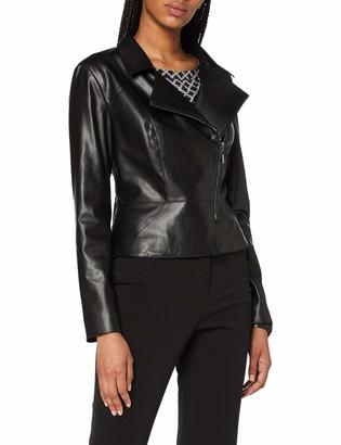 Comma (NOS) Women's 85.899.56.1080 Faux Leather Jacket