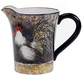 Certified International Vintage Rooster Pitcher