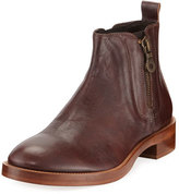 Donald J Pliner Men's Giraldo Side-Zip Leather Chelsea Boot